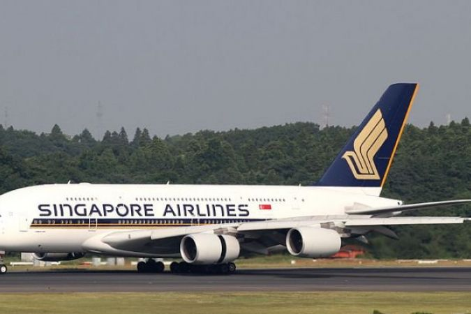 Avion Singapore Airlines