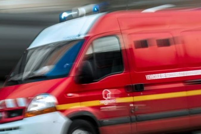 Sapeurs-pompiers en intervention