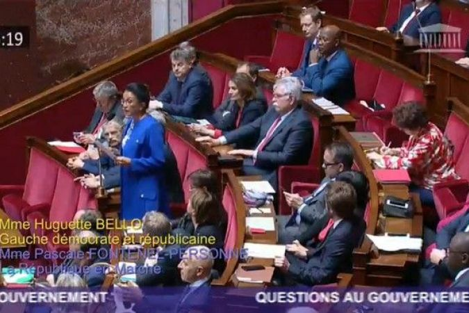 Huguette Bello assemblée nationale question au gouvernement 030419