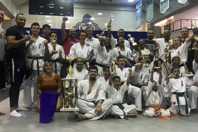 karate kyokushin réunionnais moisson de médaille All American Open à New York 220619