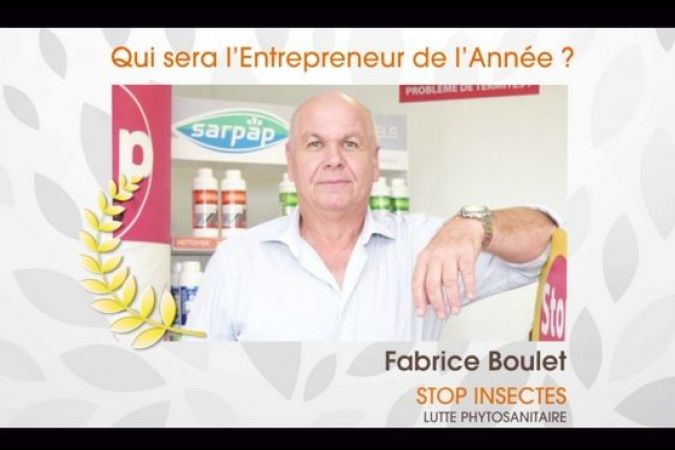 Fabrice Boulet, Stop Insectes