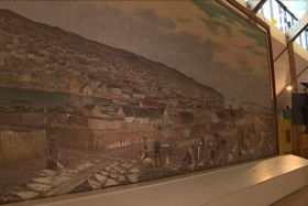 toile gaston roullet musee arche