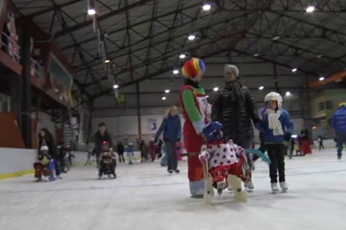 carnaval patinoire 2015