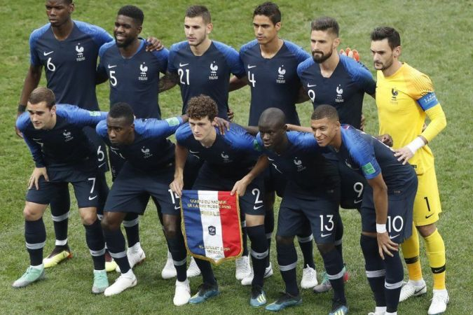 equipe france football finale coupe monde 2018