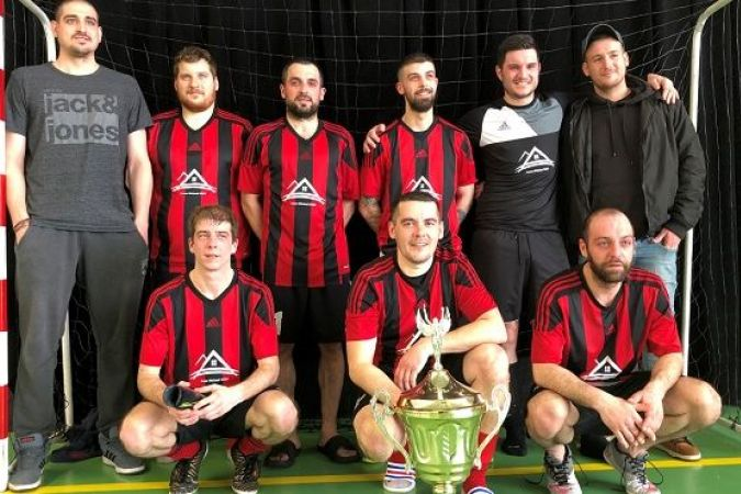 Mean Machine remporte la coupe de l'archipel de futsal