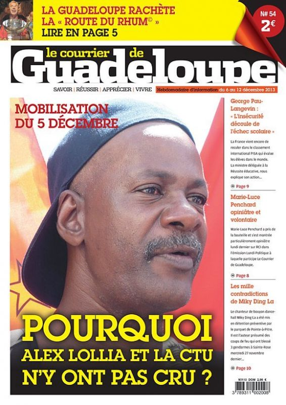 Le courrier de Guadeloupe