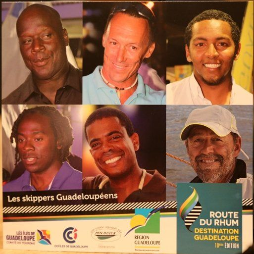 cartes skippers guadeloupe