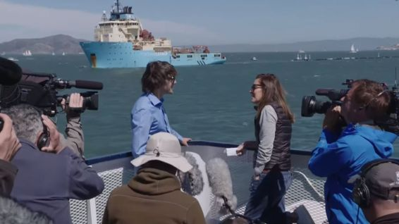 Boyan Slat interviewé le 9 septembre 2018 à San Francisco