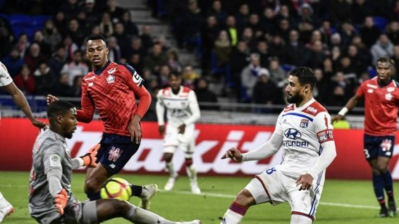 Mike Maignan (LIgue 1, OL contre LOSC mai 2019)