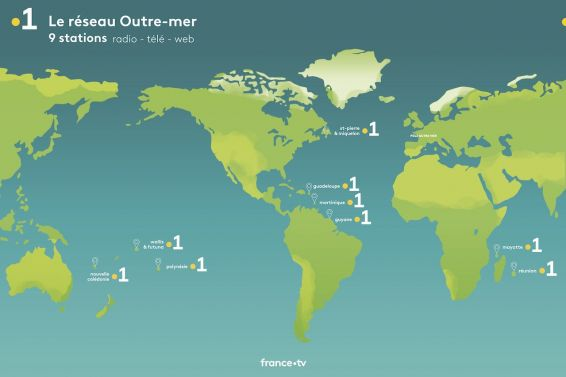 Carte implantations Pole Outre-mer