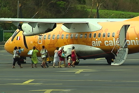 avion aircal embarquement passagers