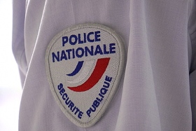 police nationale écusson