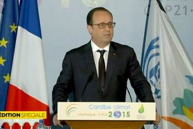 François Hollande en Martinique