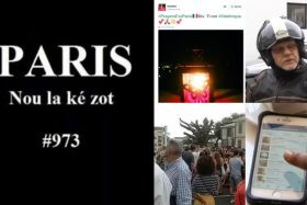 montage photos Outre-mer attentats
