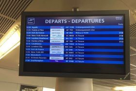 tableau horaire orly
