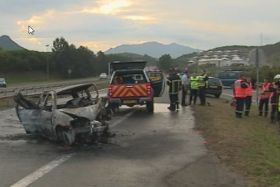 Accident mortel a Païta le 24 juillet 2016