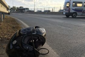 Accident mortel d'un motard