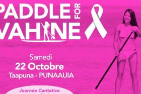 Paddle for vahine
