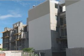 logements en chantier