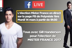 L'élection de Mister France en direct sur Polynésie 1ère !