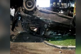 Accident-Station-Aéroport-Martinique