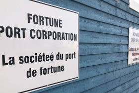 Pancarte port de Fortune