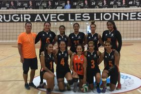 Volley-ball : victoire en France de l'équipe féminine de l'AS Pirae