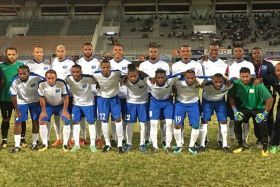 Football : photo de la sélection de Martinique