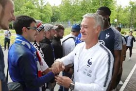 equipe france rencontre supporters russie