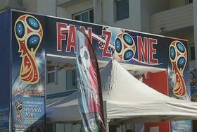 Mondial 2018 Fan Zone Saint-Pierre