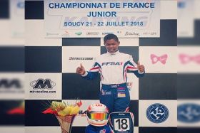 Craig Tanic champion de france Junior