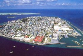 Male, capitale des Maldives