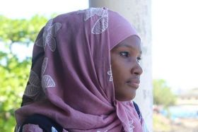 Comores actrice et mannequin Sitty Thourayah