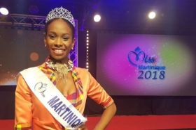 Olivia Luscap Miss Martinique 2018