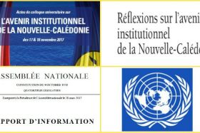 Documents et rapports officiels / avenir institutionnel NC