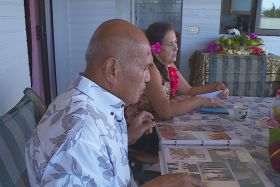 Grands parents Vaimalama Chaves Miss Tahiti
