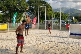Oceania beach volley : les matchs d'ouverture