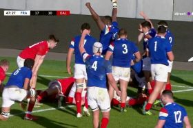 6 Nations : les Bleuets se baladent face aux Gallois