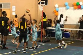 Fête du Mini basket à Saint-Laurent 2019
