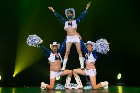 Texas boys, troupe de burlesque