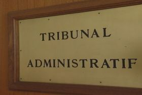 Capture Tribunal administratif plaque