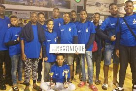 Martinique basket U 13
