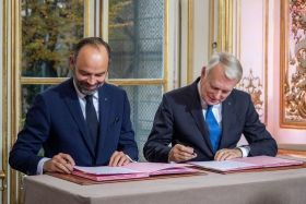 Edouard Philippe et Jean-Marc Ayrault
