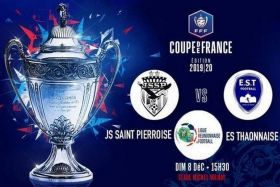 Football 8ème tour coupe de france jssp thaon les vosges 081219
