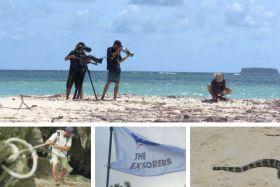 Application The Explorers en tournage en Calédonie
