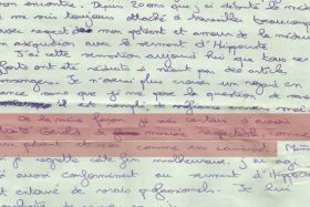 Lettre Thierry Costa