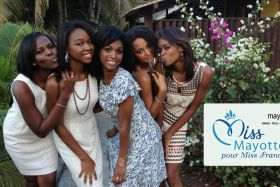 Candidates Miss Mayotte 2012