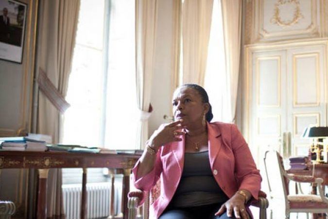Taubira, in The NY Times