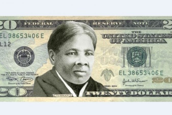 billet 20 dollars Harriet Tubman