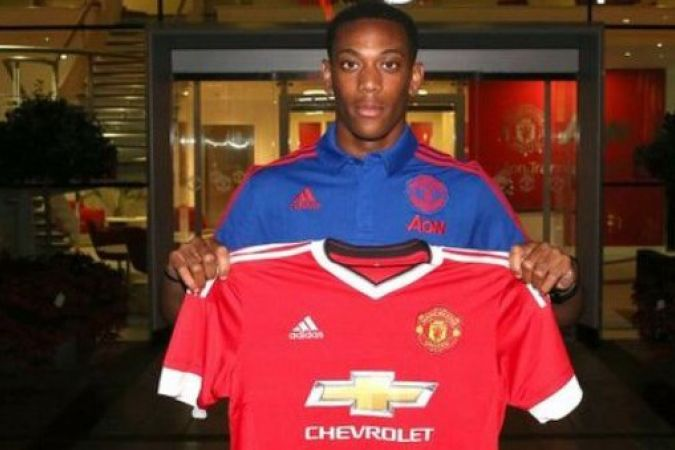 Anthony Martial Manchester